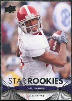 2012 Upper Deck #196 Darius Hanks RC