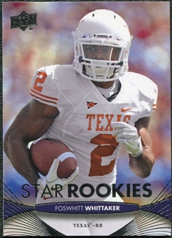 2012 Upper Deck #223 Fozzy Whittaker RC