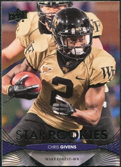 2012 Upper Deck #229 Chris Givens RC