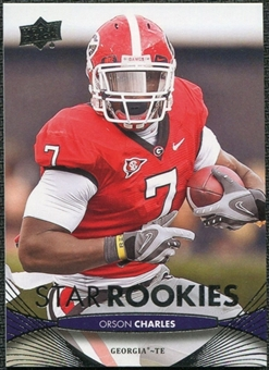2012 Upper Deck #241 Orson Charles RC