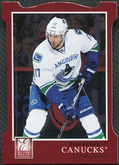 2011/12 Panini Elite Aspirations #18 Ryan Kesler