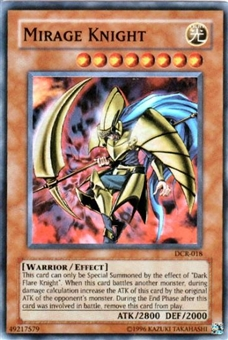 Yu-Gi-Oh Dark Crisis Single Mirage Knight Super Rare (DCR-018)