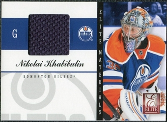 2011/12 Panini Elite Materials #37 Nikolai Khabibulin