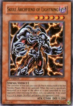 Yu-Gi-Oh Dark Crisis Single Skull Archfiend of Lightning Ultra Rare (DCR-073)