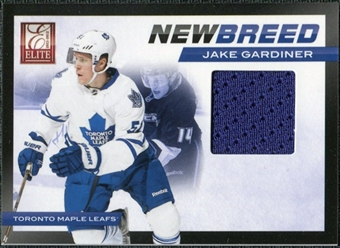 2011/12 Panini Elite New Breed Materials #12 Jake Gardiner