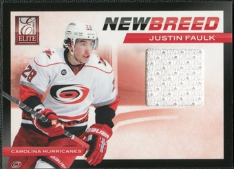 2011/12 Panini Elite New Breed Materials #26 Justin Faulk