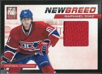 2011/12 Panini Elite New Breed Materials #33 Raphael Diaz