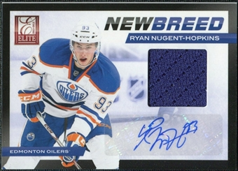 2011/12 Panini Elite New Breed Materials Autographs #18 Ryan Nugent-Hopkins RC Autograph /50