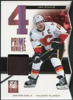 2011/12 Panini Elite Prime Number Jerseys #19 Jarome Iginla /400