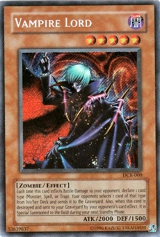 Yu-Gi-Oh Dark Crisis Single Vampire Lord Secret Rare (DCR-000)