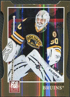 2011/12 Panini Elite Status Gold #59 Tim Thomas /99