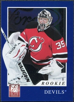 2011/12 Panini Elite #236 Keith Kinkaid RC /999
