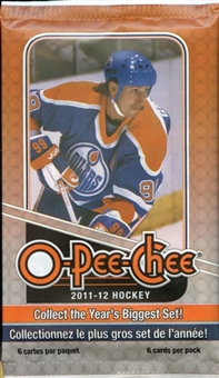 2011/12 Upper Deck O-Pee-Chee Hockey Retail 24-Pack Lot