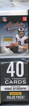 2011 Panini Absolute Memorabilia Football Value Pack Lot (12 Packs!)