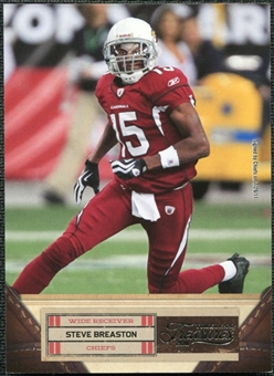 2011 Panini Timeless Treasures #91 Steve Breaston /499