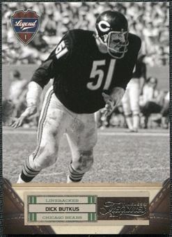 2011 Panini Timeless Treasures #109 Dick Butkus /499
