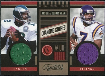 2011 Panini Timeless Treasures Changing Stripes #22 Randall Cunningham /249