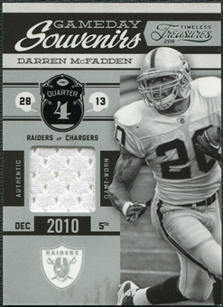 2011 Timeless Treasures Game Day Souvenirs 4th Quarter #22 Darren McFadden /190
