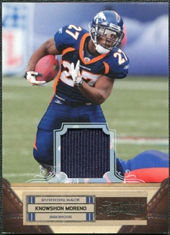 2011 Panini Timeless Treasures Jerseys #52 Knowshon Moreno /250