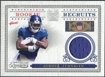 2011 Timeless Treasures Rookie Recruits Materials #23 Jerrel Jernigan /250