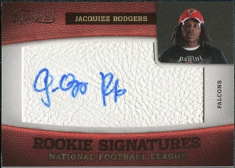 2011 Panini Timeless Treasures #165 Jacquizz Rodgers RC Autograph /490