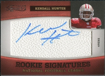 2011 Panini Timeless Treasures #179 Kendall Hunter Autograph /265