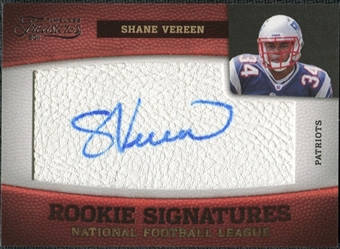 2011 Panini Timeless Treasures #208 Shane Vereen RC Autograph /265