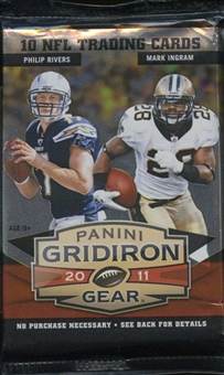 2011 Panini Gridiron Gear Football Retail Pack