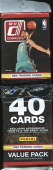2010/11 Donruss Basketball Value Pack Lot (24 Packs)