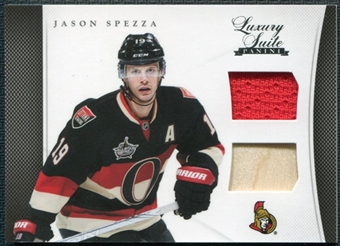 2011/12 Panini Luxury Suite #13 Jason Spezza Stick Jersey