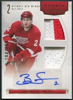 2011/12 Panini Rookie Anthology #111 Brendan Smith RC Jersey Autograph 184/199