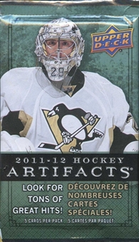 2011/12 Upper Deck Artifacts Hockey Retail Pack