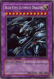 Yu-Gi-Oh Retro Pack 1 Single Blue-Eyes Ultimate Dragon Secret Rare RP01