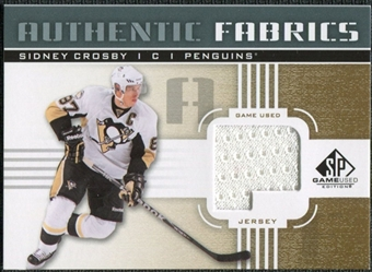 2011/12 Upper Deck SP Game Used Authentic Fabrics Gold #AFSC2 Sidney Crosby P C