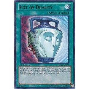 Yu-Gi-Oh Battle Pack Single Pot of Duality Starfoil Rare BP01