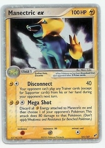 Pokemon Deoxys Single Manectric ex 101/107