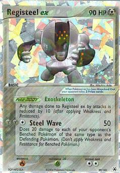 Pokemon Hidden Legends Single Registeel ex 99/101