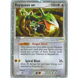 Pokemon Hidden Legends Single Rayquaza ex 102/107