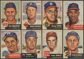1953 Topps Starter Set (120 Different) EX