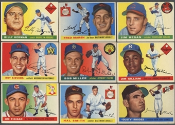 1955 Topps Baseball Starter Set (80 Different) EX