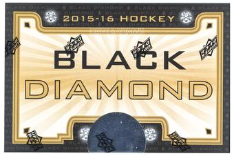 2015/16 Upper Deck Black Diamond Hockey Hobby Box