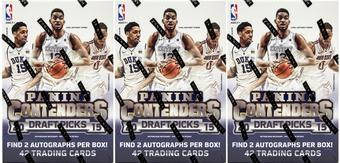 2015/16 Panini Contenders Draft Picks Basketball 7-Pack Box (Lot of 3)