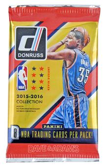 2015/16 Panini Donruss Basketball Hobby Pack