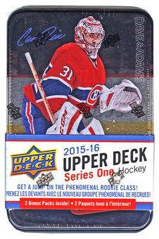 2015/16 Upper Deck Series 1 Hockey Tin (Box)
