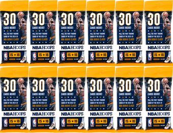 2015/16 Panini Hoops Basketball Fat Pack (Lot of 12)