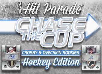 "2015/16 Hit Parade Hockey ""Chase for the Cup Crosby & Ovechkin Rookies"" Box"