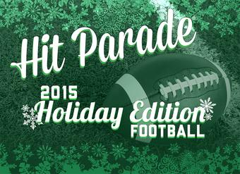 2015 Hit Parade Football Holiday Edition (4 Hits!)