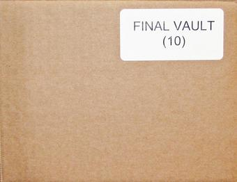 2015/16 In The Game The Final Vault Hockey Hobby 10-Box Case