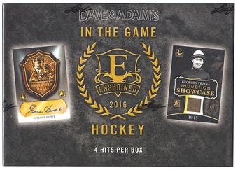 2015/16 Leaf Enshrined Edition Hockey Hobby Box