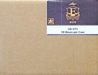 2015/16 Leaf Enshrined Edition Hockey Hobby 10-Box Case